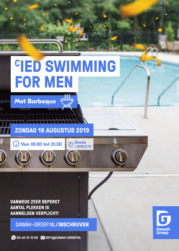 Flyer Men's Swimming 18-08-2019
