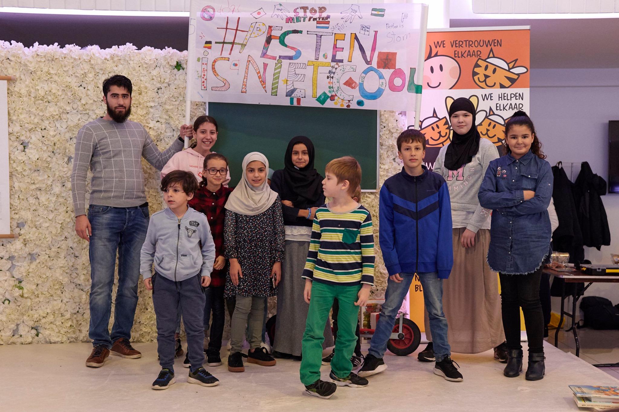 """Kinderconferentie 03-11-2019: """"Pesten is niet stoer!"""""""